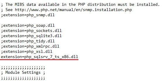 Configuración SQL Server
