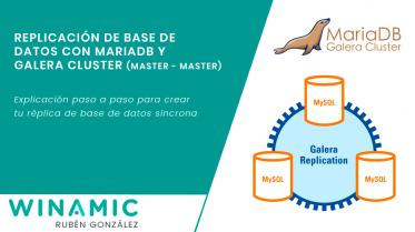 Sincronización de base de datos MariaDB con Galera Cluster