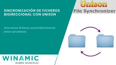 Sincronización de ficheros bidireccional con Unison