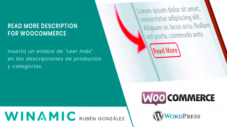 Read More Description Link for WooCommerce