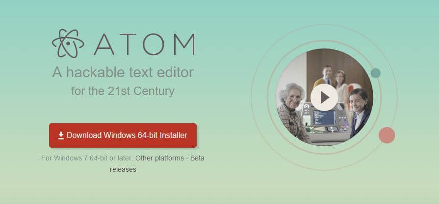 Atom Editor WordPress