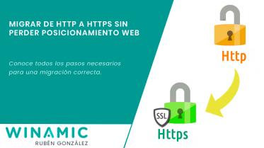 Migración de HTTP a HTTPS sin perder posicionamiento