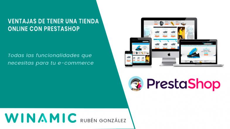 Ventajas tienda online Prestashop