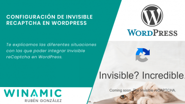Invisible reCaptcha en WordPress