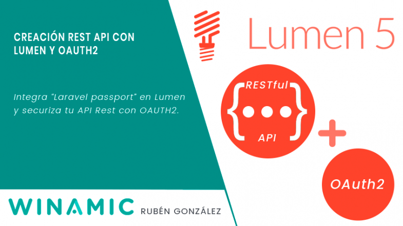 Creacion Rest API con Lumen y OAUTH2