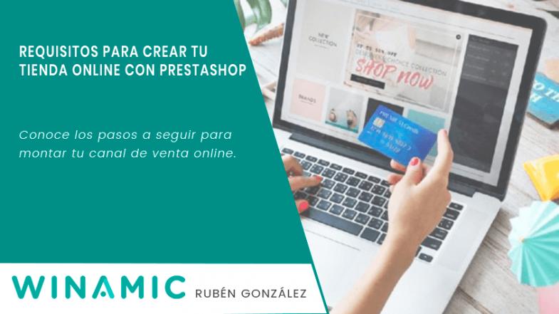 Requisitos para crear tienda online con Prestashop