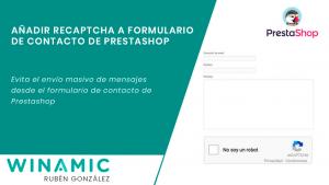 Añadir reCaptcha a formulario de contacto de Prestashop