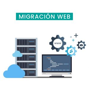 Migración hosting web