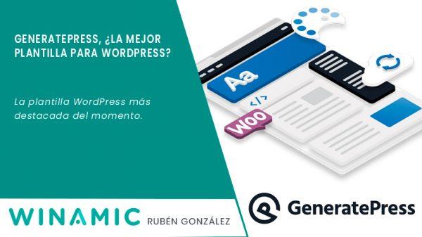 Generatepress, la mejora plantilla wordpress